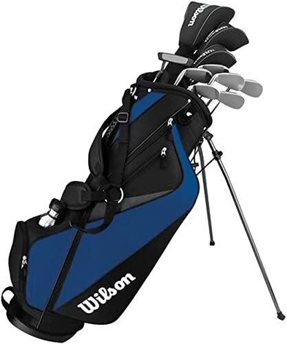 Wilson Men s Tour Velocity Complete Standard Right Golf Club Set and Bag WGGC63500