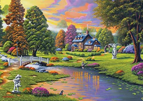 Buffalo Games - Cottage Creek - 300 Large Piece Jigsaw Puzzle