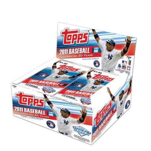 - 2011 Topps 1 Baseball box (24 pk/12 cd RETAIL)
