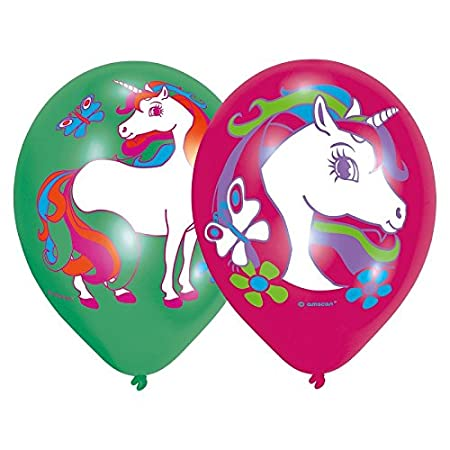 Les paquetería Negros LCN bolsita de 6 balón Unicornio, Déco ...