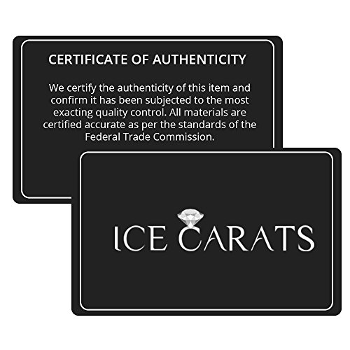 ICE CARATS 925 Sterling Silver Agate/glass Black Bead/mother Of Pearl Bracelet 7.50 Inch Natural Stone/Wood Fine Jewelry Ideal Gifts For Women Gift Set From Heart by ICE CARATS (Image #7)