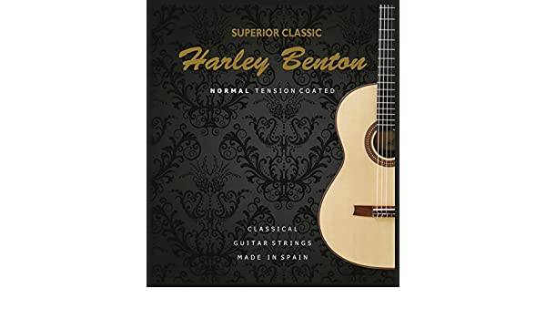 Harley Benton Superior Classic exclusivamente cuerdas de nailon ...