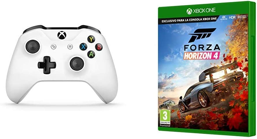 Microsoft - Xbox Wireless Controller Gamepad, Blanco (PC, Xbox One ...