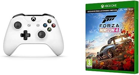 Microsoft - Xbox Wireless Controller Gamepad, Blanco (PC, Xbox One ...