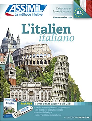 Amazon Com Assimil L Italien Pack Italian For French