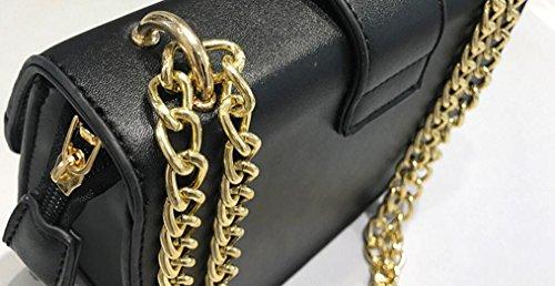 cadena de única Hombro Bolso de moda Satchel bolsa Bolsa chic O7qBWWn