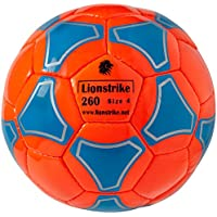 Leather Soccer Ball Size 4 - LIONSTRIKE lightweight...