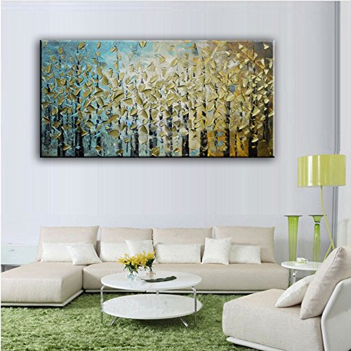 YHDAMAI HandOil Painting Home Decorati Canvas Abstract Knife Painting Pictures