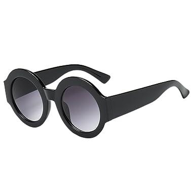 Sallydream Gafas de sol mujer Marco grande Forma redonda ...