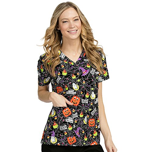 Med Couture Womens Halloween Print