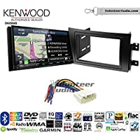 Volunteer Audio Kenwood Excelon DNX994S Double Din Radio Install Kit with GPS Navigation Apple CarPlay Android Auto Fits 2007-2013 Suzuki SX4