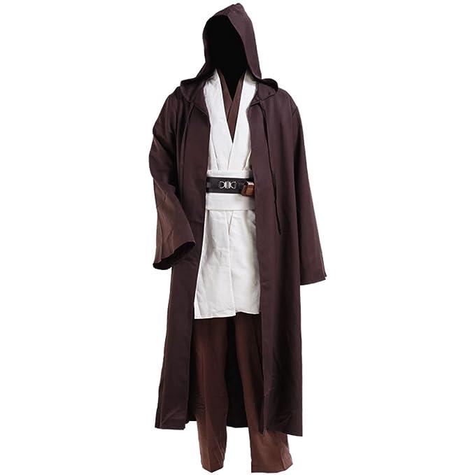 Amazon.com: De los hombres caballero cloakfull Set Jedi Robe ...