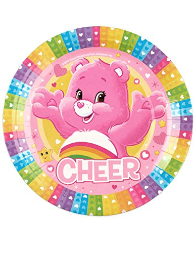PARTY WEB Care Bears Plates