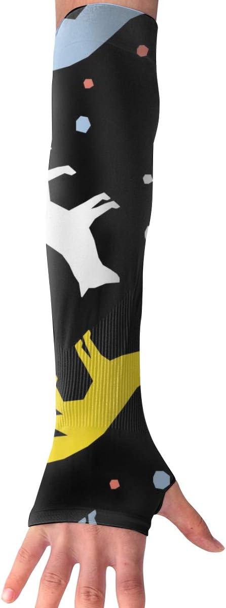 MASDUIH Abstract Fox Gloves...