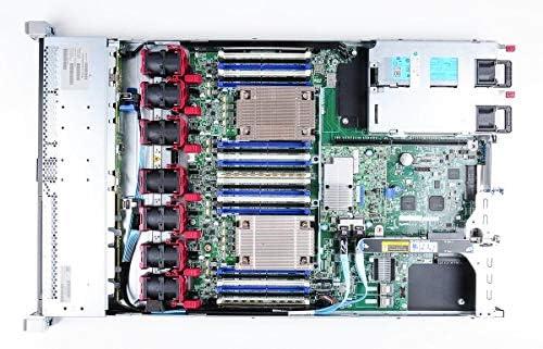 Renewed HP P440 2GB 12GB//S Raid Controller 48GB DDR4 REG Memory 4X 3TB SAS SED New HDD HP Proliant DL360 G9 4 Bays 3.5 Server 2X Intel Xeon E5-2643 V3 3.4GHz 6 Core - 2X 800W PSU 12TB