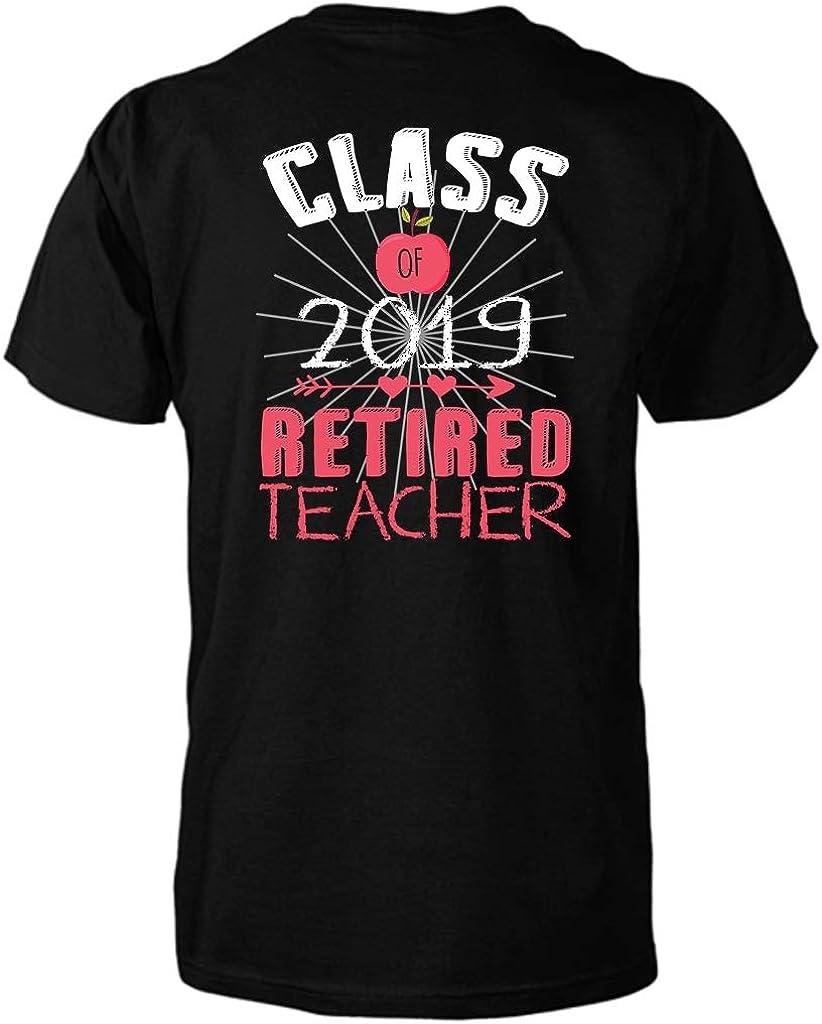 Teacher Retirement Gift Apple Retire Class 2019 T-Shirt