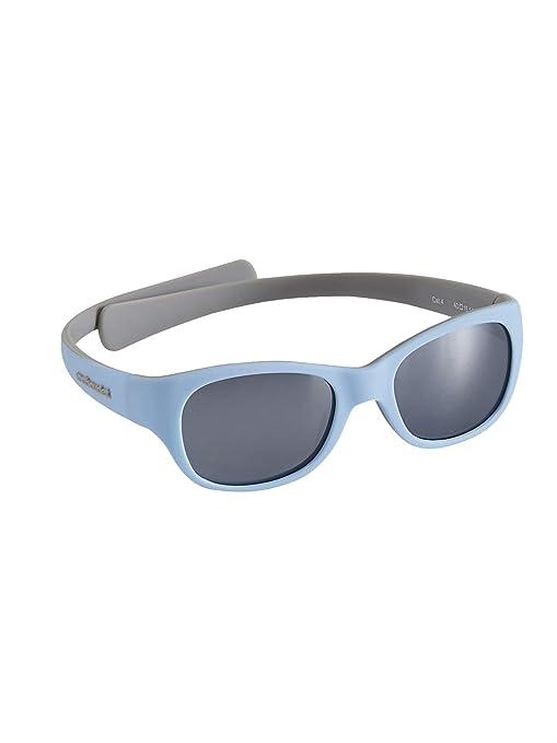 VERTBAUDET Gafas de sol para bebé AZUL MEDIO LISO UNICA ...