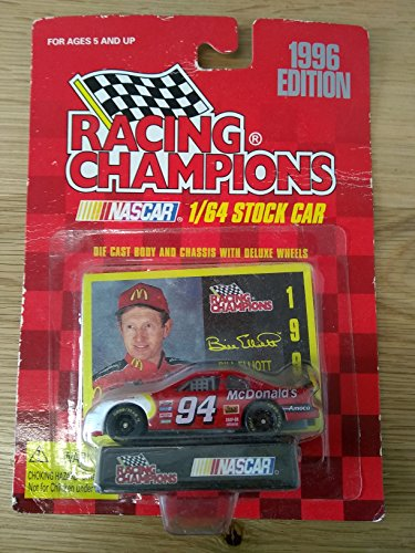 Racing Champions 1/64 scale Stock Car with collectible card 1996 Edition #94 Bill (Racing Champions Stock Car)
