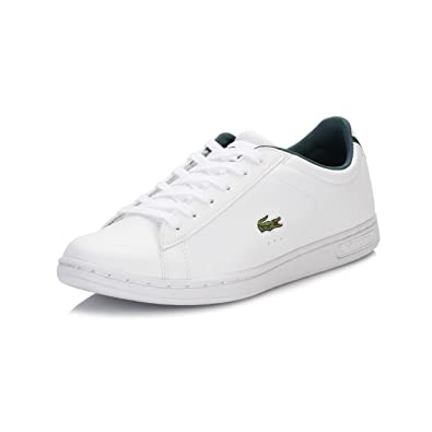 7c7486f003 Lacoste Junior Blanc Carnaby Evo REI Basket: Amazon.fr: Chaussures ...