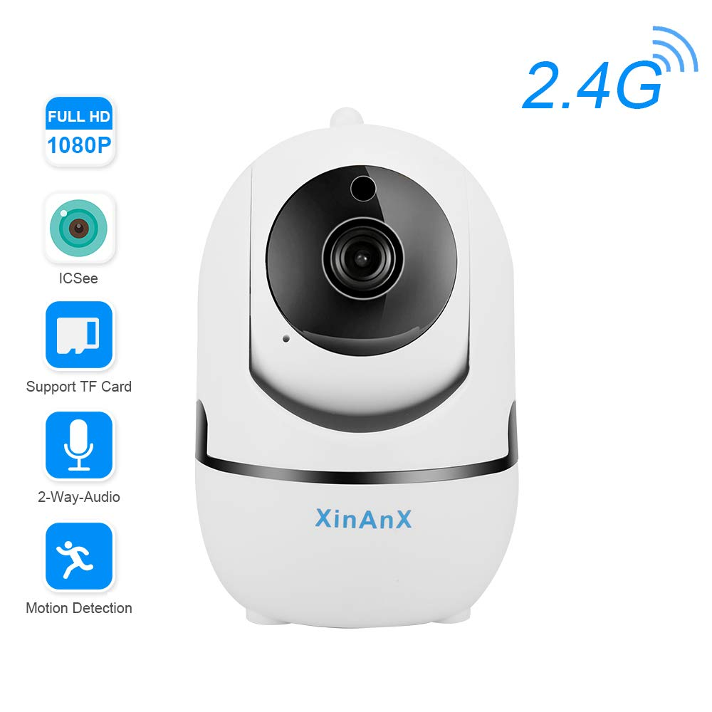 Wifi Ip Camera 1080p Wireless Security Camera Indoor Surveillance System 2 4ghz For Home Baby Pet Monitor With Ir Night Vision Pan Tilt Zoom Motion Detection Two Way Audio Cloud Storage Electronics Cjp Org In