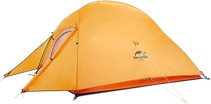 NatureHike 4/saisons imperm/éable coupe-vent Tente de camping pour 2/personnes ultral/éger randonn/ée Tente avec tapis de sol