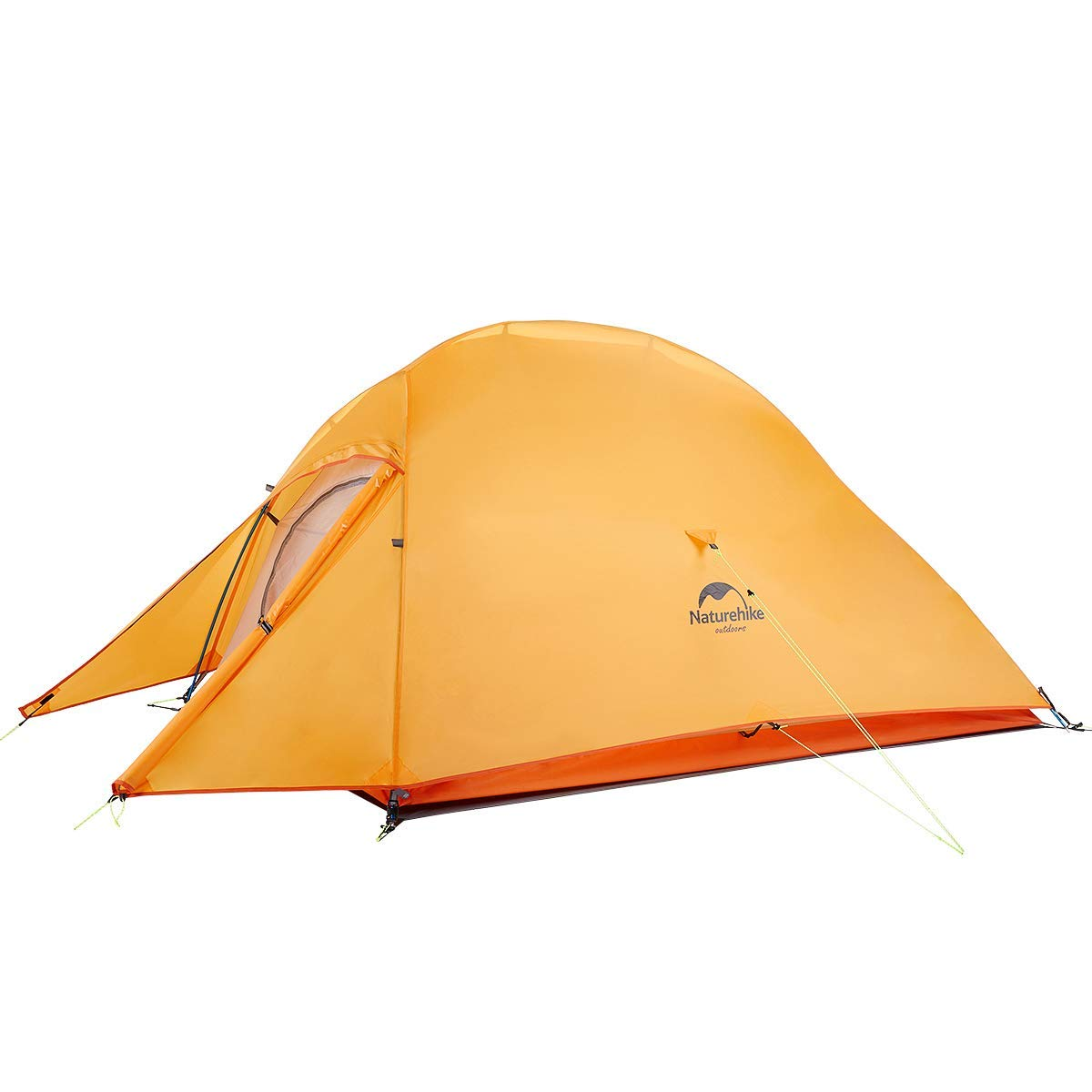 Naturehike Tent Cloud Up Upgrade Ultralight 2 Person Tent for Camping,Backpacking,Hiking (Orange(210T Polyester)) by Naturehike