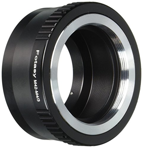 Fotasy AM42 Copper M42 Lenses to Micro Four Thirds M43 MFT System Camera Mount Adapter