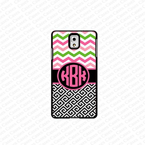 krezy case monogram Galaxy Note 4 case- monogram Personalized colorful chevron pattern samsung Galaxy Note 4 case...
