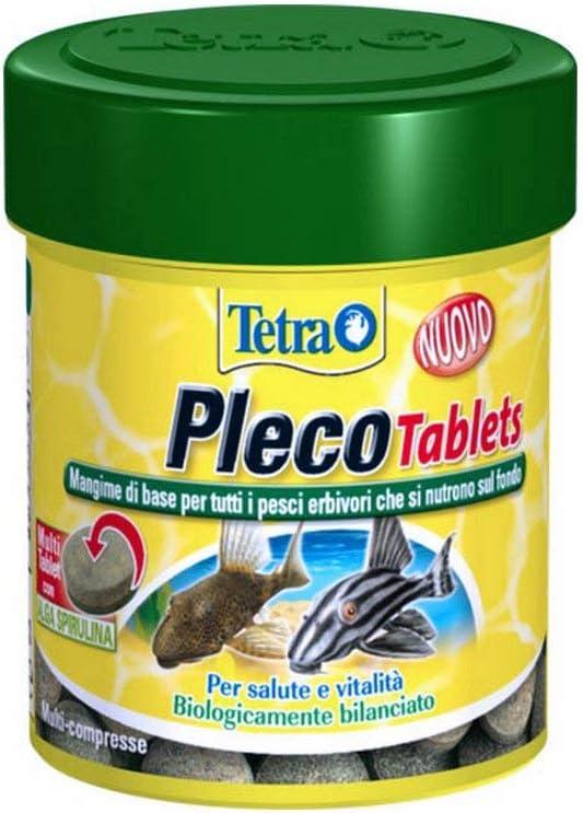 Tetra Pleco Tablets - Confezione da 120 Tablets da 36 gr