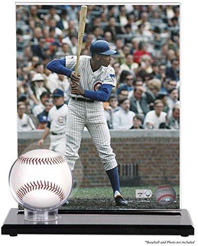 Baseball Acrylic Case (Acrylic Single Baseball Display Case with Photo Holder)