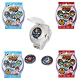 Yo-kai Watch 5 Piece Set - Watch, 2 Season 1 Blind Bags, 2 Season 2 Blind Bags Including 3 Mystery Medallions