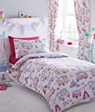 DOUBLE DUVET SET Festival Tents Caravan Glamping DOUBLE Quilt Cover Bed Set (Duvet Set (NO curtains))