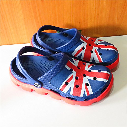 Xing Lin Sandalias De Hombre Orificio De Deportes Zapatos De Hombre Calzado De Playa Patrón Baotou Jardín Llano Zapatos Para Hombres Sandalias Hueco Antideslizante United Kingdom