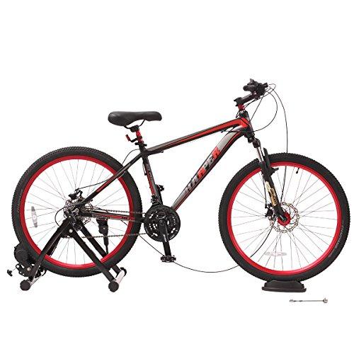 URSTAR Magnet Steel Bike Bicycle Indoor Exercise Trainer Stand in Black