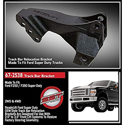 Readylift 67-2538 Track Bar Relocation Bracket for F250/F350/F450: Automotive