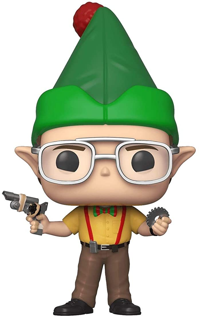 Funko POP! Television: The Office Holiday - Dwight as Elf