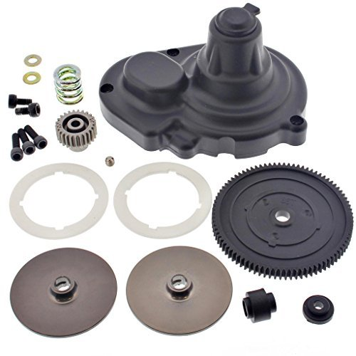 (Losi 1/10 XXX-SCT Brushless 2WD SPUR & PINION GEARS, SLIPPER CLUTCH, PAD, COVER by Team)