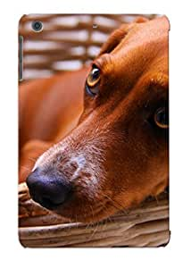 Hot CZOWvWJ3660Ewmmn Case Cover Protector For Ipad Mini/mini 2- Dog In A Baskert/ Special Gift For Lovers