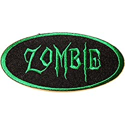 ZOMBIE Halloween Party Jacket T-shirt Patch Sew Iron on Embroidered Sign Badge