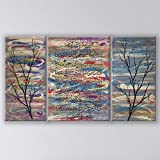 Hand Painted Islamic Ayatul Kursi - Branches