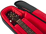 Gator Cases Transit Series Acoustic Guitar Gig Bag; Charcoal Black Exterior