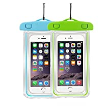 "Waterproof Case Universal CellPhone Dry Bag Pouch CaseHQ for Apple iPhone 6S, 6, 6S Plus, SE, 5S, Samsung Galaxy S7, S6 Note 7 5, HTC LG Sony Nokia Motorola up to 5.7"" diagonal"