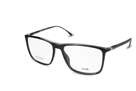 c8f44f55c4 Amazon.com  Hugo Boss Men s Optical Frame Optyl Black Frame ...