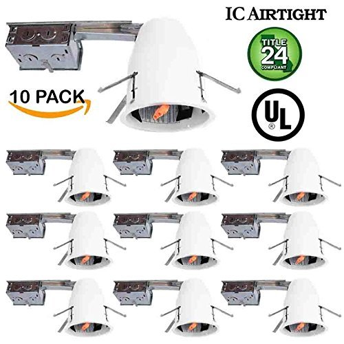 Sunco Lighting 10 PACK - 4
