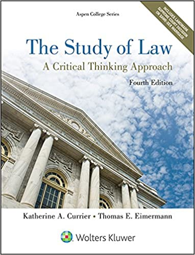 The Study Of Law A Critical Thinking Approach Third Edition Pdf - image 8