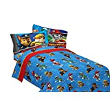 Nick Jr Paw Patrol Ruff Ruff Rescue Cotton/Polyester Sheet Set, Twin