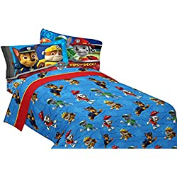 PAW Patrol Ruff Ruff Rescue Sheet Set, Twin
