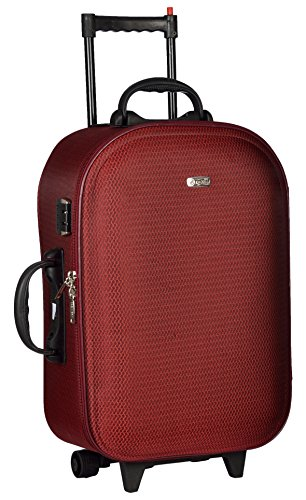 TREKKER Polyester 50 cms Red Softsided Cabin Luggage  TTB NICE20 RED