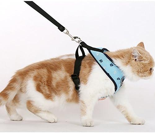 hoopet Pet Gilet Harnais de contr/ôle et laisse Set pour chien ou chat doux et facile /à marche