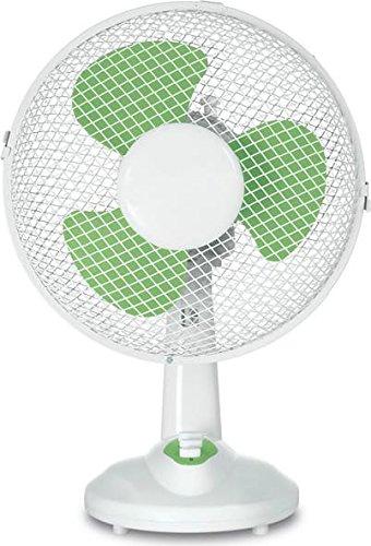 Johnson Elettrodomestici S.P.A. (Jon))- Ventilatore da Tavolo D.25 35W Base25, Multicolore, 123